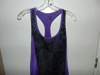 4cef6fafbe5ca9 Women s C9 CHAMPION Duo Dry T-back Top Sleeveless Athletic Shirt Size Large