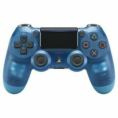 Official Sony PlayStation 4 PS4 Dualshock 4 Wireless Controller V2- BLUE CRYSTAL