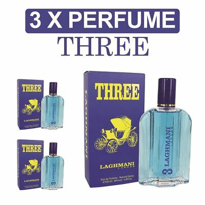 Laghmani Three Mini Perfume Atomiser 3 x Pack Mothers Days Day Gifts For Him