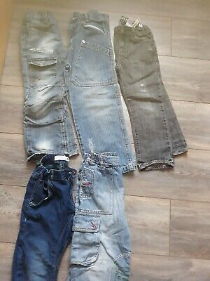 5 pairs of boys jeans size 4-6 years old