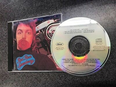 Paul McCartney & Wings Red Rose Speedway cd + 3 bonus tracks Beatles CDM 7520262