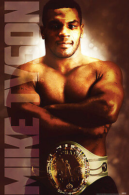 MIKE TYSON HEAVYWEIGHT CHAMP 24x36 POSTER BOXER WALL DECOR ART FIGHTER ICONIC!!!