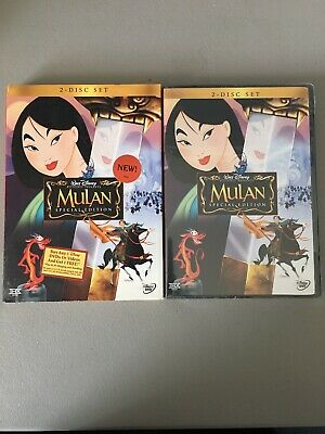 """MULAN"" Walt Disney BRAND NEW Sealed (DVD, 2004, 2-Disc Set, Special Edition)"