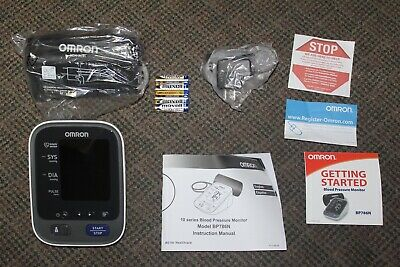 Omron 10 Series Wireless Bluetooth Blood Pressure Monitor BP786N New Open Box