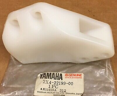 Yamaha NEW, NOS  Chain Guard Support, 2X4-22199-00, YZ125-465, IT250, 79-82