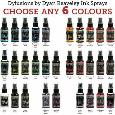 Dylusions Ink Spray - 6 Colours - Choose Your Own