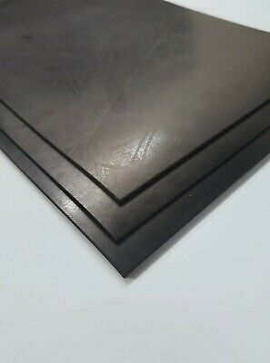 Rubber Sheet Black Natural/sbr Various Sheet Sizes & Thicknesses - Great Value!