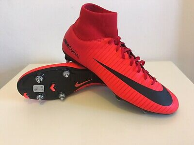 28e473feeb78 Brand New With Box Nike Mercurial Victory VI DF SG Football Boots Red Size  Uk11
