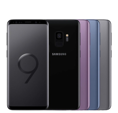 Samsung Galaxy S9 G960U 64GB T-Mobile GSM Unlocked Android Smartphone-Shadow LCD