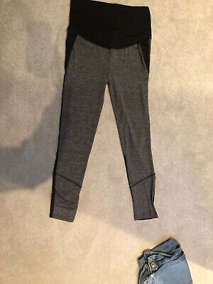 Ladies Maternuty Workout Bottoms Trousers Size M Blooming Marvellous