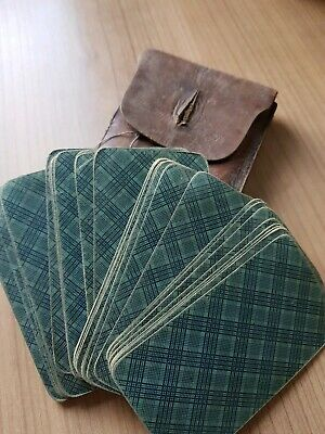 Antique german playing cards