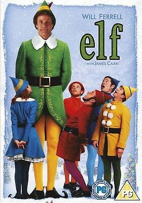 Elf (DVD, 2005) Will Ferrell FREE SHIPPING