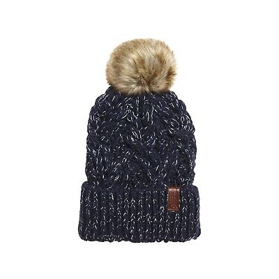 Bonnet Superdry Nebraska Cable Beanie Navy Sparkle