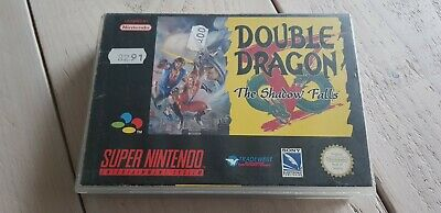 * Super Nintendo * Double Dragon V The Shadow Falls * SNES RARE * PAL * Boxed *