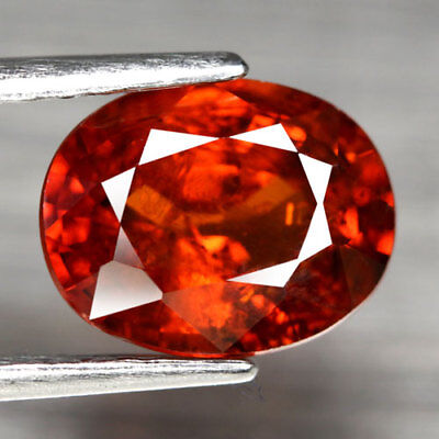 Aaa - Spessartite Garnet - Natural Spessartine Ct 2.96 If Oval Cut Namibia Afric