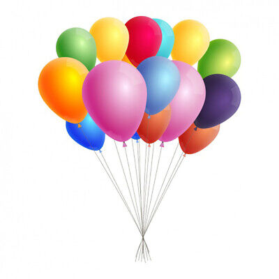 50 X Latex PLAIN BALOON BALLONS helium BALLOONS Quality Party Birthday Wedding
