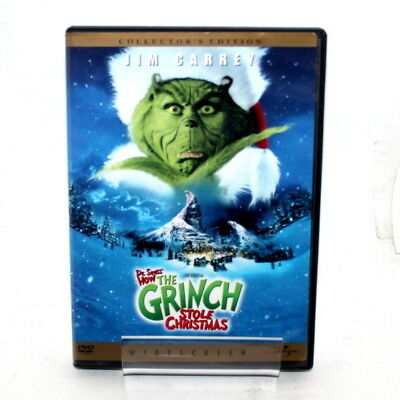 Dr. Seuss's How The Grinch Stole Christmas Jim Carrey Collector's Edition 2001