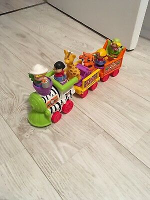Train Musical Little People Zoo Mattel Fisher-Price piles neuves