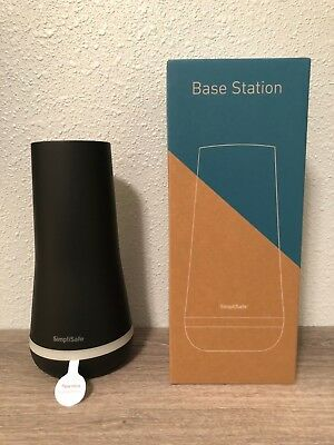 BRAND NEW SimpliSafe 2018 Base Station (Black / Obsidian). Part number BS3B