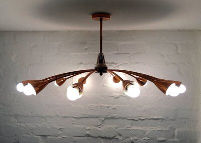 BECO (Brown Evans And Co.) Copper Chandelier, Commissioned By Anatol Kagan, Melb