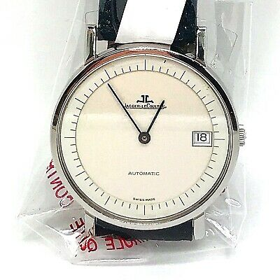 Jaeger-LeCoultre Automatic Extra Slim Men Steel Steel Watch with JLC Service