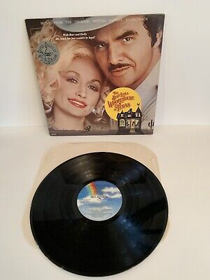 c8041f6e5be8e The Best Little Whore House In Texas Vinyl Record Burt Reynolds Dolly Parton