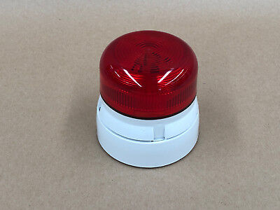 Klaxon Beacon Light Red Steady and Flashing QBS-0060