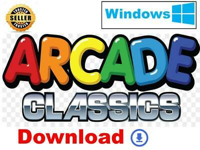 Arcade Classic Pack Space Invaders Pacman Asteroids For Windows PC *DOWNLOAD*