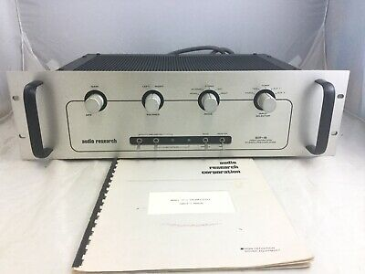 Audio Research Model SP-8 Preamplifier With Manual.