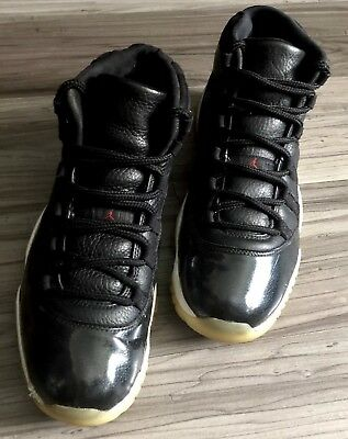huge selection of 38c4a 45d49 Nike Air Jordan 11 Xi Retro 72-10 Bred Black gym Red white