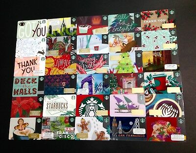 Starbucks  Gift Card / Arch Card ------ Lot Of 30 Pcs. ----- New