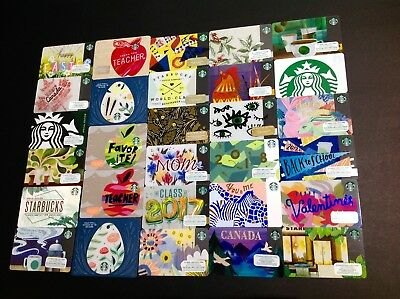 Starbucks  Gift Card / Arch Card ------ Lot Of 29  Pcs. ----- New