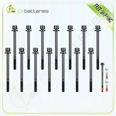 Cylinder Head Bolts for 02-09 Chevrolet GMC Canyon Hummer 2.8 2.9 3.5 3.7 4.2
