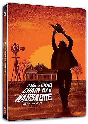 The Texas Chainsaw Massacre (1975) New 2 Disc Blu Ray Steel Case Edition Rb