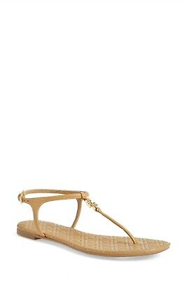 16ae422b22aa NWOB Tory Burch Marion Quilted Sandal Color Sand Leather Size 10M