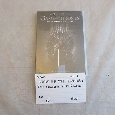 brand new HBO Game of Thrones The Complete First Season DVD  0101