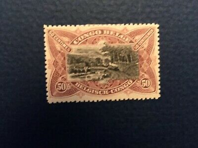 Belgian Congo Stamps. #53. 1910. MH.