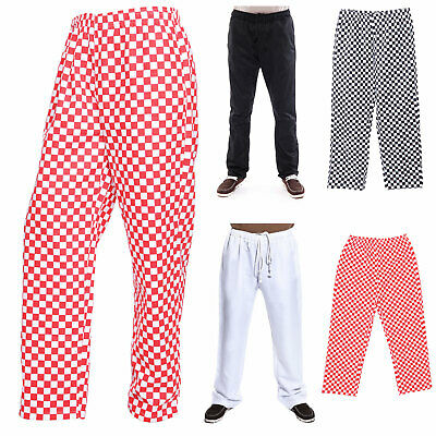 Chef Chefwear Unisex Professional Work Pants / Trousers 3 Pockets Multi Color