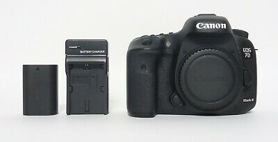 Canon EOS 7D Mark II (9128B002) 20.2MP Digital SLR Camera - 55,305 Clicks