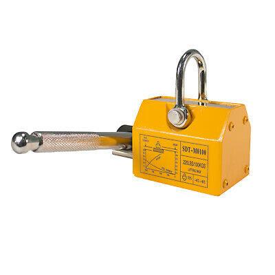 Steel Dragon Tools® 220 LBS 100 KG Neodymium Lifting Magnet Magnetic Shop Crane