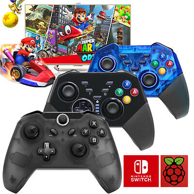 Nintendo Switch Wireless Pro Controller Gamepad Joypad for PC Mac Raspberry Pi