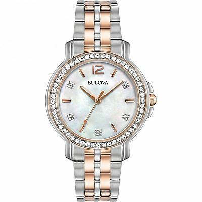 New Bulova #98L242 Women's Crystal Collection