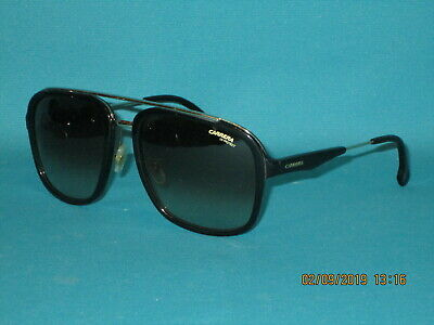 72099ab1bee CARRERA 133 S 2M2 HA Black   Gold Brown Gradient Men s Sunglasses 57mm