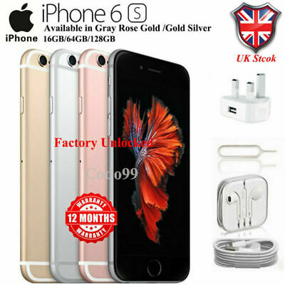 Apple iPhone 6s 16GB 64GB 128GB Unlocked Smartphone Various colors 1 Yr Wty UK