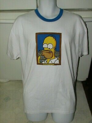 The Simpsons Homer employee of the year t shirt Large New