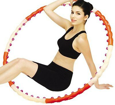 Sporting Goods Passion Magnetic Health Hoola Hula Hoop Weighted 6.17lb Advance Step4