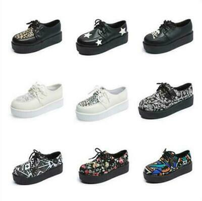 17d77d8a95b2 ... Retro Punk Festival Rock Brothel Creepers Shoes UK 3-9.  26.01 Buy It  Now 9d 0h. See Details. Womens Creeper Ladies Lace Up Punk Goth Double  Platform ...