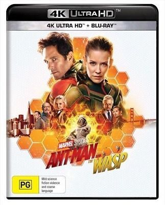 Ant-Man And The Wasp (4K Ultra HD + Blu-ray, 2018) BRAND NEW & SEALED