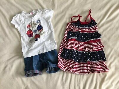 294f1bff1 TODDLER GIRL 4T Lot Old Navy The Children s Place Patriotic America ...
