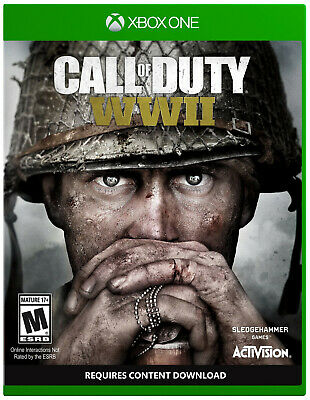 Call of Duty: WWII (Microsoft Xbox One, 2017) Brand New Free Shipping!